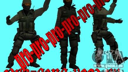 A. R. M. Y peau peau militaire pour GTA San Andreas