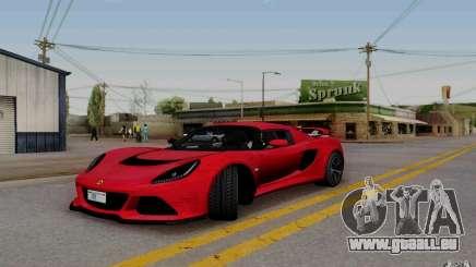 Lotus Exige S V1.0 2012 pour GTA San Andreas