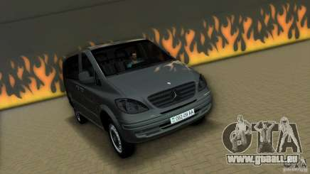 Mercedes-Benz Vito 2007 pour GTA Vice City