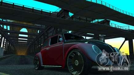 Volkswagen Fusca 1966 Tuning für GTA San Andreas
