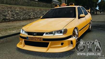 Peugeot 406 Taxi für GTA 4