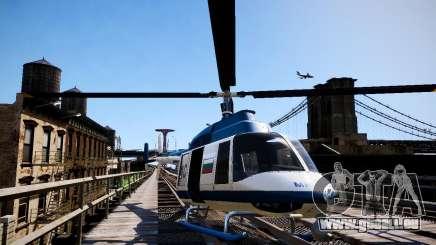 Russian Police Maverick für GTA 4