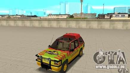 Ford Explorer (Jurassic Park) pour GTA San Andreas