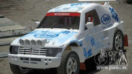 Mitsubishi Pajero Proto Dakar EK86 vinyle 3 pour GTA 4