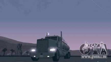 Kenworth Petrol Tanker für GTA San Andreas