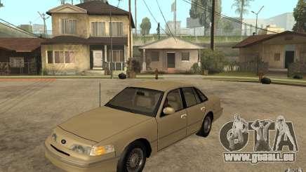 Ford Crown Victoria LX 1992 pour GTA San Andreas
