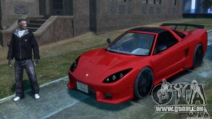 Acura NSX Veilside Fortune v 1.0 pour GTA 4