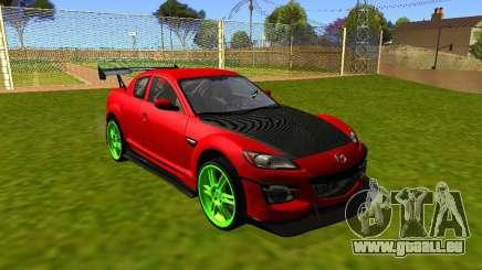 Mazda RX-8 R3 Tuned 2011 pour GTA San Andreas