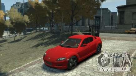 Mazda RX-8 (2006) pour GTA 4