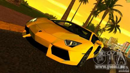 Lamborghini Aventador LP 700-4 für GTA Vice City