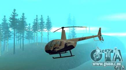 Robinson R44 Raven II NC 1.0 4 de la peau pour GTA San Andreas
