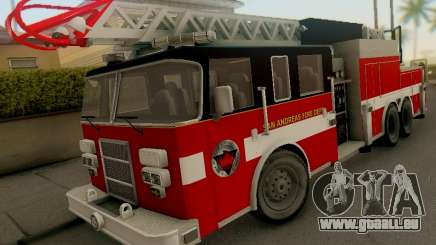 Pierce Firetruck Ladder SA Fire Department für GTA San Andreas