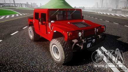 Hummer H1 4x4 OffRoad Truck v.2.0 pour GTA 4