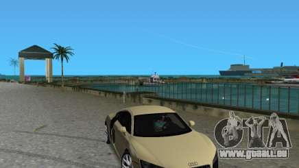 Audi R8 5.2 Fsi für GTA Vice City