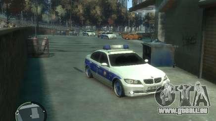 BMW 320i Police für GTA 4