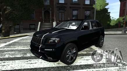 Jeep Grand Cherokee STR8 2012 pour GTA 4