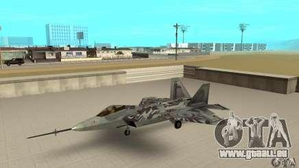 YF-22 Starscream für GTA San Andreas