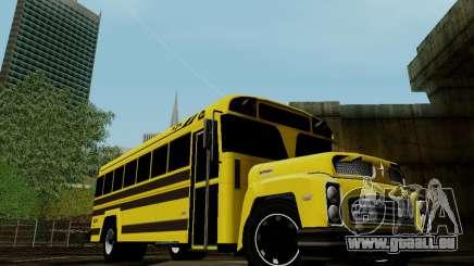 International Harvester B-Series 1959 School Bus pour GTA San Andreas