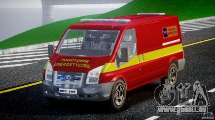 Ford Transit Polski uslugi elektryczne [ELS] pour GTA 4