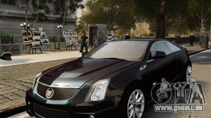Cadillac CTS-V Coupe 2011 pour GTA 4