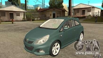 Vauxhall Corsa VXR pour GTA San Andreas