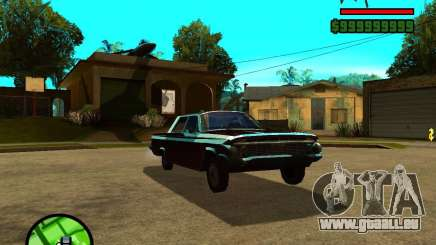 Mercury Mascarpone für GTA San Andreas