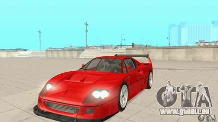 Ferrari F40 Competizione pour GTA San Andreas