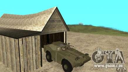 BRDM-1 Skin 2 für GTA San Andreas