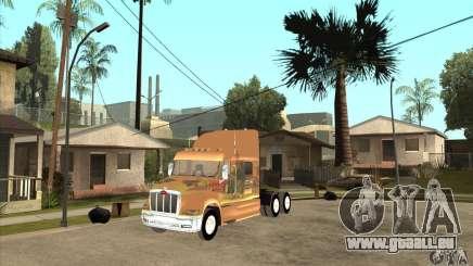 Peterbilt 387 peau 3 pour GTA San Andreas