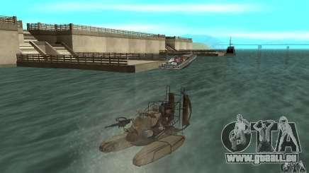 HL2 Airboat für GTA San Andreas