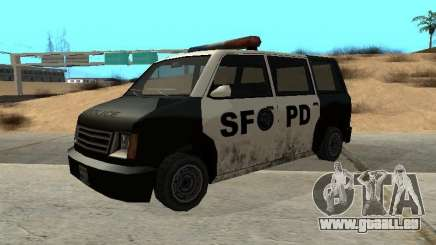 Moonbeam Police pour GTA San Andreas