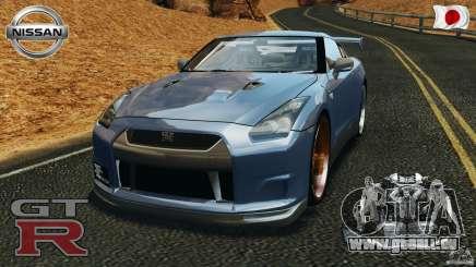 Nissan GT-R 35 rEACT v1.0 pour GTA 4
