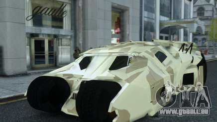HQ Batman Tumbler für GTA 4