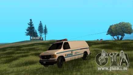 Ford E-150 NYPD Police für GTA San Andreas
