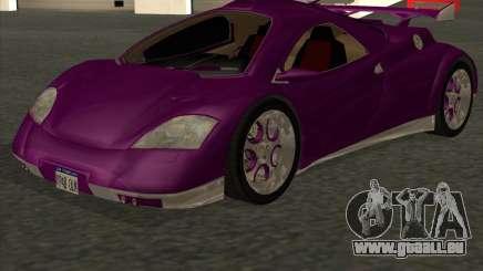 Conceptcar Nimble pour GTA San Andreas