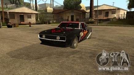 Chevrolet Camaro SS Dragger für GTA San Andreas