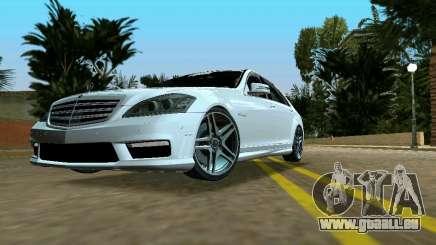 Mercedes-Benz S65 AMG 2012 für GTA Vice City