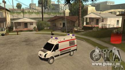 Volkswagen Crafter Ambulance pour GTA San Andreas