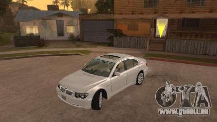 BMW 760I 2002 für GTA San Andreas