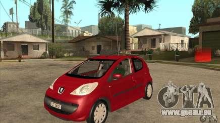 Peugeot 107 pour GTA San Andreas