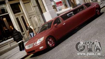 Lexus GS450 2006 Limousine pour GTA 4