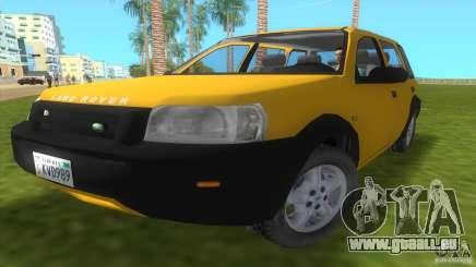 Land Rover Freelander pour GTA Vice City
