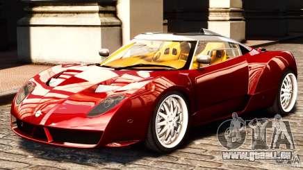 Spyker C12 Zagato 2007 pour GTA 4