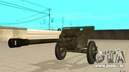 Die ZiS-3 Kanone für GTA San Andreas