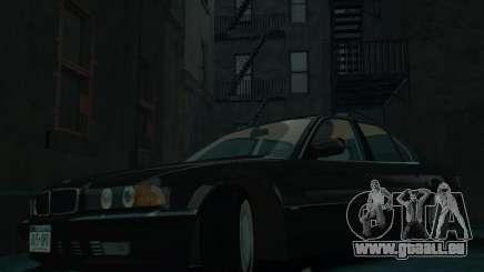 BMW 750i E38 1998 pour GTA 4