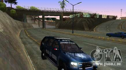Chevrolet Tahoe 2008 Police Federal pour GTA San Andreas
