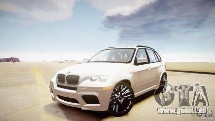 BMW X5M 2011 pour GTA 4