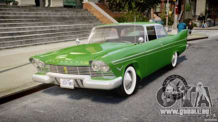 Plymouth Belvedere 1957 v1.0 pour GTA 4