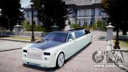 Rolls Royce Phantom Sapphire Limousine Disco pour GTA 4