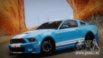 Ford Shelby GT500 2013 für GTA San Andreas